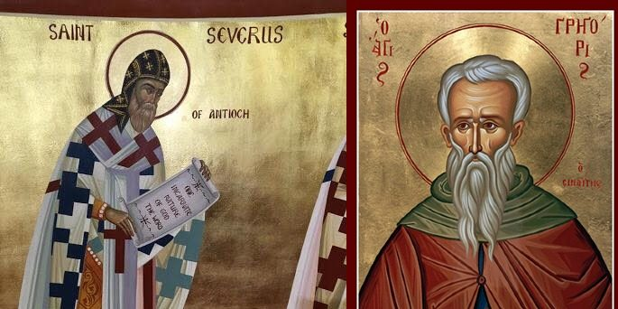 Severus of Antioch and Gregory of Sinai